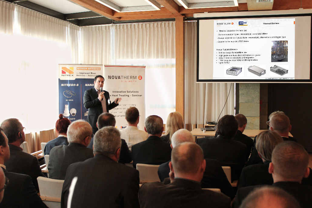 "Enrico Grisenti of Fluke Corporation presented ""Temperature profiling in heat treatment processes"""