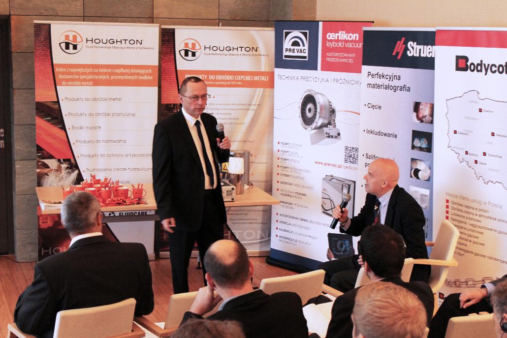 """Tadeusz Frączek of the Czestochowa University of Technology presented """"Ion nitriding of X2CrNiMo17-12-2 austenitic steel"""""""