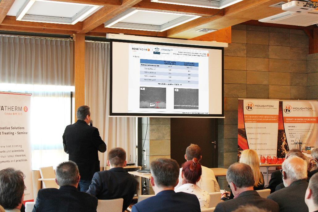 "Maciej Olejnik of WSK PZL Kalisz presented ""The benefits of ion nitriding applied to ASz62IR grade aerospace engine cylinder liners"""