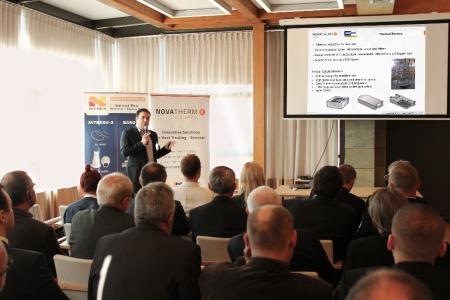 "Enrico Grisenti of Fluke Corporation presented ""Temperature profiling in heat treatment processes"""