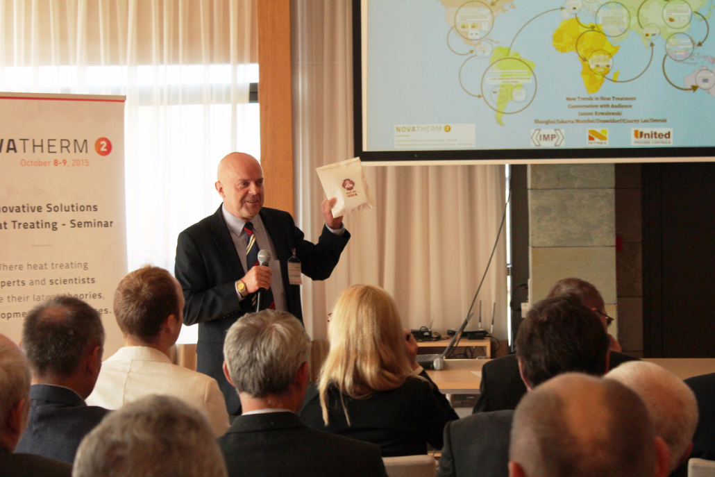 "Janusz Kowalewski presented ""Global heat treating trends of the 4th industrial revolution"""